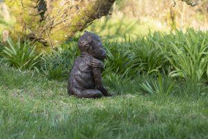 Baby Orangutan Garden Statue