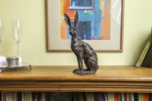 SITTING HARE SCULPTURE