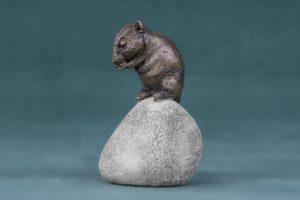 Dormouse Bronze Statue