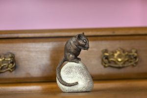 Bronze Dormouse Ornament