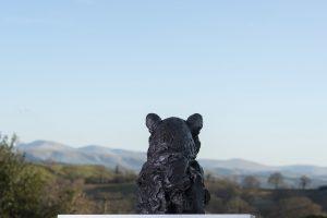 Portrait Leopard Outdoor Sculpture