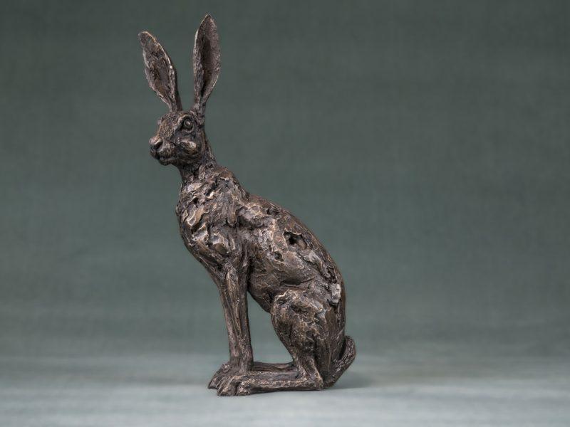 Sitting Hare Sculpture