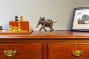 Baby Elephant Mantlepiece Ornament