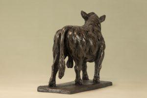 Bronze Resin Bull Statue