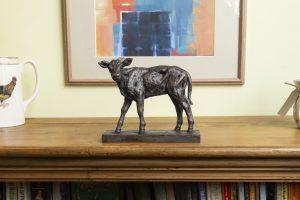 Shorthorn Calf Mantlepiece Ornament