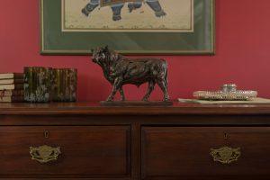 Small Bull Statue
