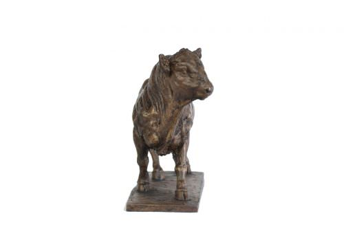 WALKING BULL SCULPTURE