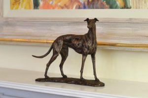 Small Greyhound Mantlepiece Ornament