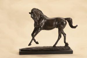 Bronze Resin Horse sculpture