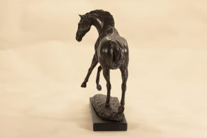 Back of Horse Statue