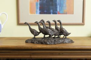 Gaggle of Geese Ornament