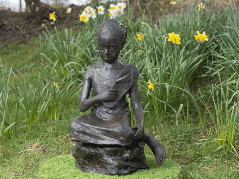 Eritrean Girl Sculpture
