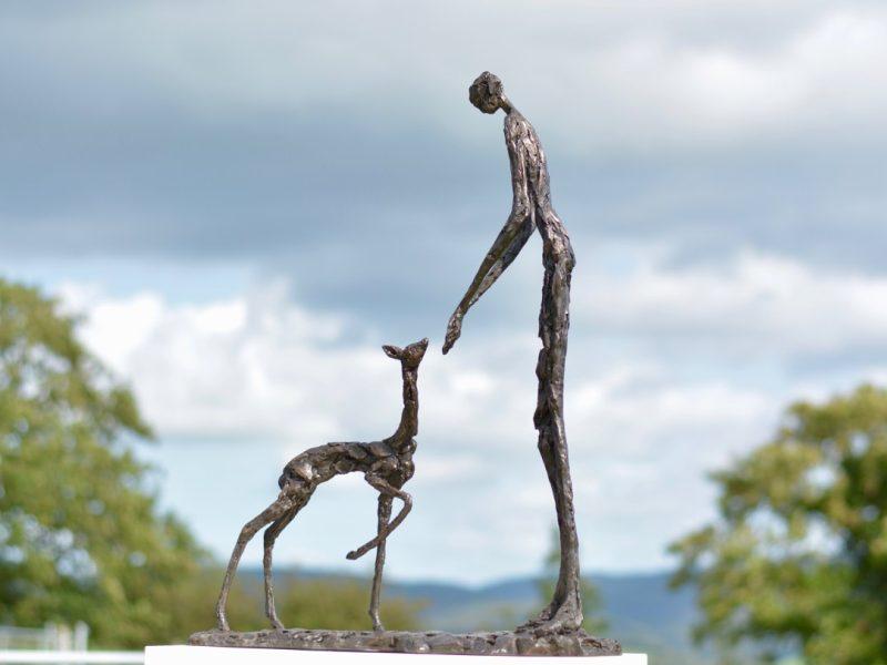 Trust Bronze Statue