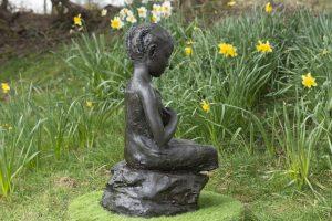 Eritrean Girl Garden Sculpture