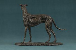 Bronze Small Greyhound Sculpture