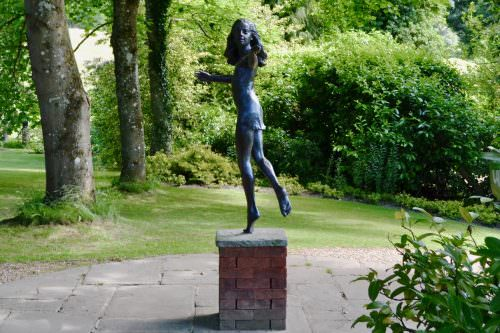 'MIRANDA' DANCING GIRL SCULPTURE