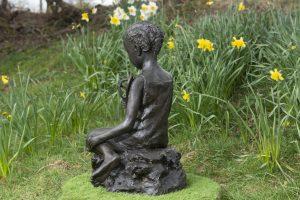 Eritrean Girl Outdoor Sculpture