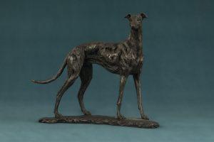 Small Greyhound Dog Art