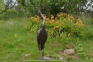 Standing Heron Front