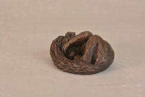 Bronze Squirrel Statue