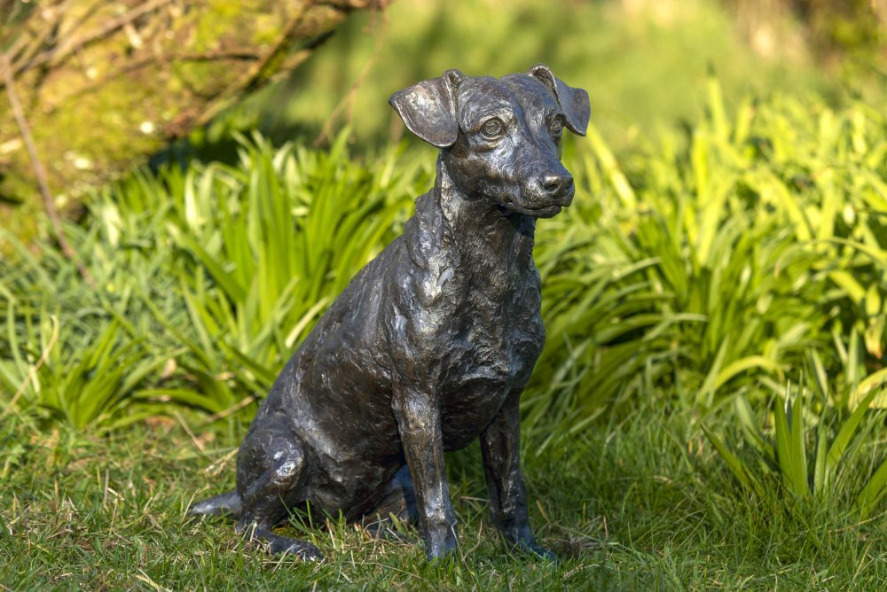 Jack Russell Terrier Statue