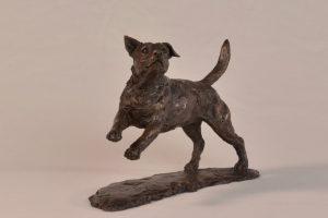 Jack Russell Terrier Sculpture