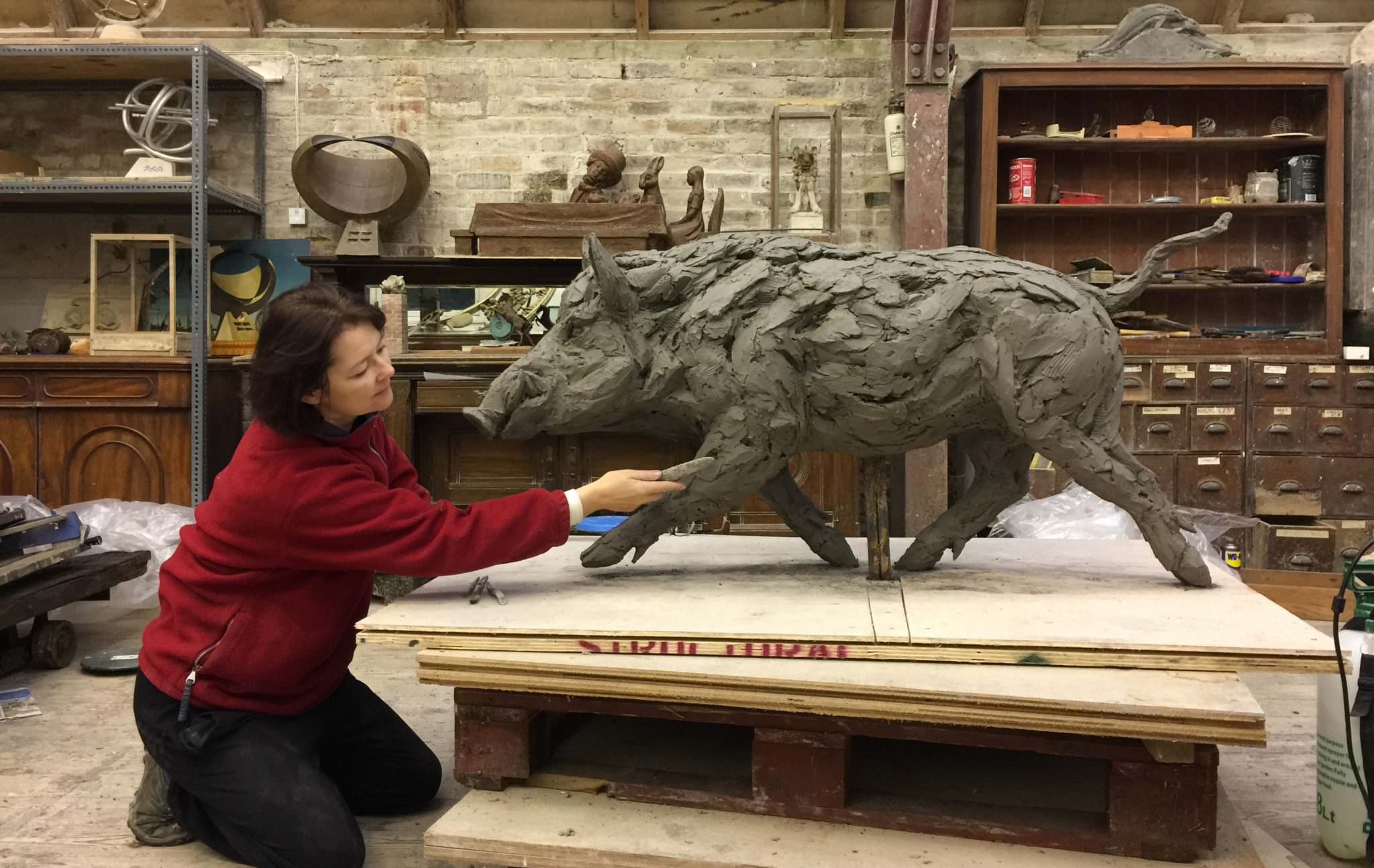 Commission a bespoke wildlife sculpture