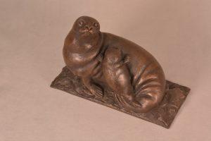 Sea lion statue