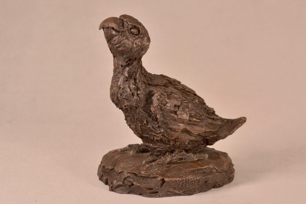 Baby Parrot Statue