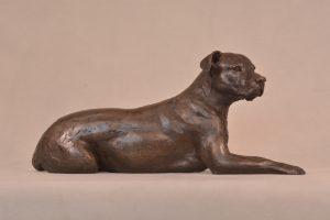 Mixed Breed Dog Sculpture