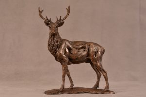 Royal Stag Sculpture