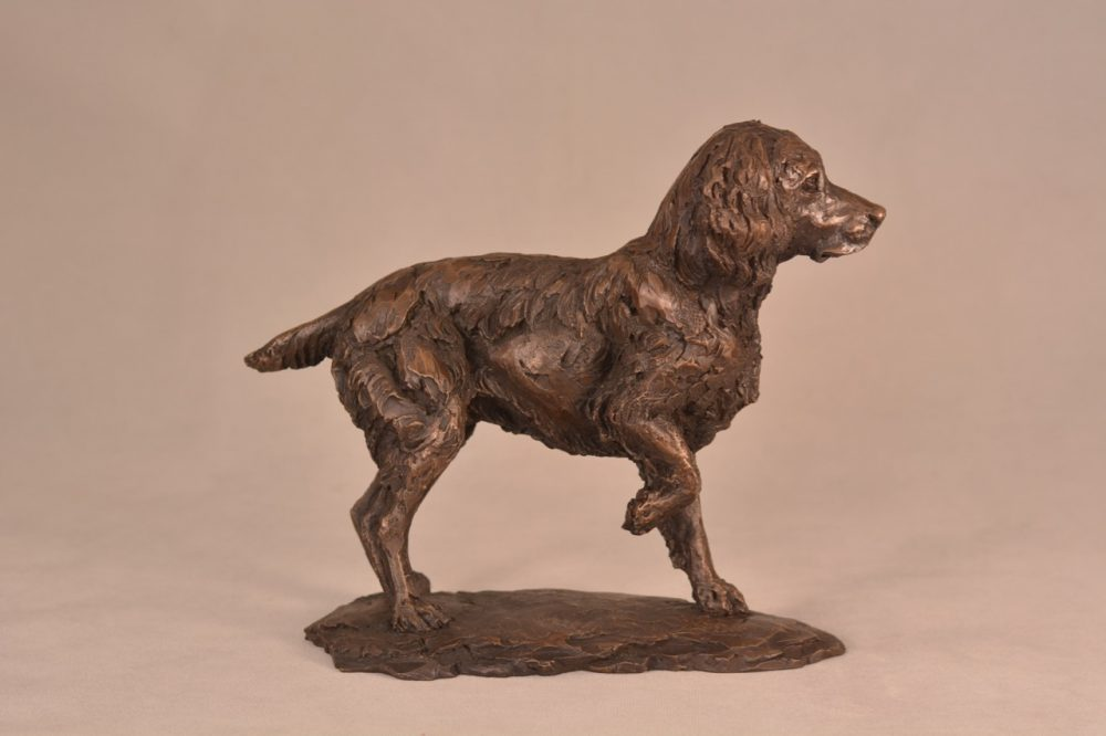 Spaniel Sculpture