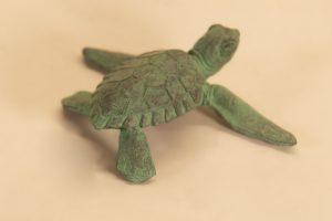 bronze turtle statue